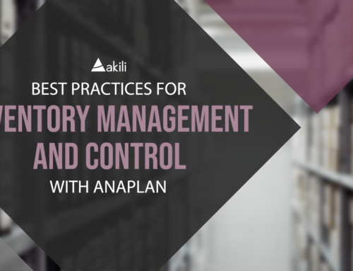 Best Practices for Inventory Management and Control with Anaplan