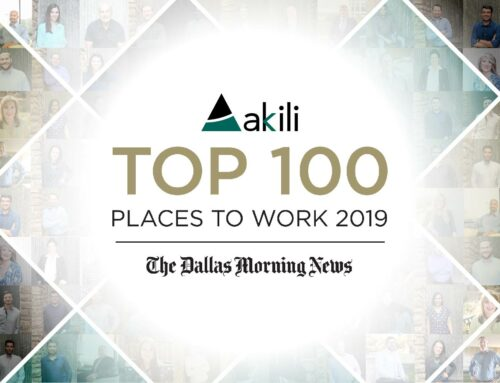 Akili Recognized in Top 100 Places to Work 2019